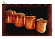 Grandma's Kitchen-copper Canister Set Carry-all Pouch