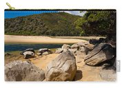 Granite Boulders In Abel Tasman Np New Zealand Carry-all Pouch