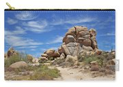 Granite Boulders In The Desert Carry-all Pouch