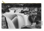 Granite Falls Black And White Carry-all Pouch