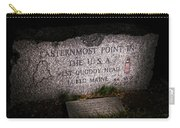 Granite Monument Quoddy Head State Park Carry-all Pouch