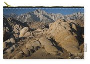Granite Rock Formations, Alabama Hills Carry-all Pouch