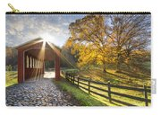 Granny Squirrel Bridge Carry-all Pouch by Debra and Dave Vanderlaan
