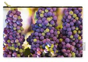Grape Bunches Wide Carry-all Pouch