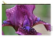 Grape Iris Carry-all Pouch