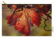 Grape Leaf Carry-all Pouch