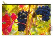 Grapes And Autumn Leaves, Napa California Carry-all Pouch