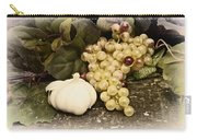 Grapes And Garlic Carry-all Pouch