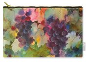 Grapes In Light Carry-all Pouch