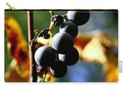 Grapes On The Vine In Square  Carry-all Pouch by Neal Eslinger
