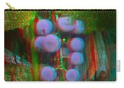 Grapes On The Vine - Use Red-cyan Filtered 3d Glasses Carry-all Pouch