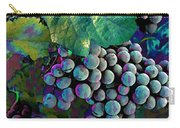 Grapes Painterly Carry-all Pouch