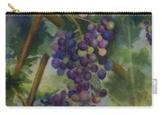 Baby Cabernets II   Triptych Carry-all Pouch