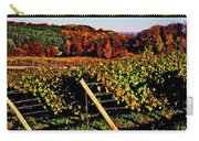 Grapevines In Vineyard, Traverse City Carry-all Pouch
