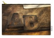 Graphic Artist - Ab Carry-all Pouch