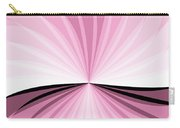 Graphic Pink And White Carry-all Pouch
