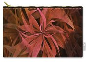 Grass Abstract - Fire Carry-all Pouch