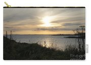 Grass In The Setting Sun Carry-all Pouch