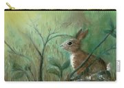 Grass Rabbit Carry-all Pouch