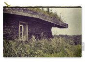 Grass Roof On Cottage Carry-all Pouch