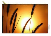 Grasses At Sunset - 1 Carry-all Pouch