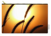 Grasses At Sunset - 2 Carry-all Pouch
