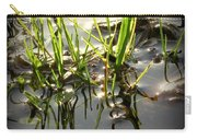 Grasses In Water Carry-all Pouch