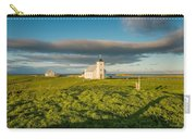 Grasslands And Flatey Church, Flatey Carry-all Pouch