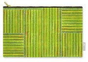 Grassy Green Stripes Carry-all Pouch