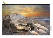 Grateful Friends Curious Egrets Carry-all Pouch by Betsy Knapp