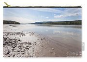Gravel And Mud At Yukon River Near Dawson City Carry-all Pouch
