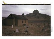 Graveyard Church Cabezon Peak Ghost Town Cabezon New Mexico 1971 Carry-all Pouch