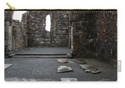 Graveyard In Church Ruin - Ireland Carry-all Pouch