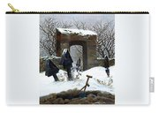 Graveyard Under Snow Carry-all Pouch