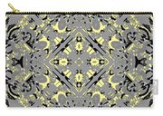 Gray And Yellow No. 1 Carry-all Pouch
