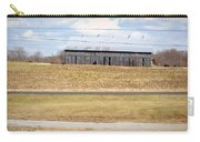 Gray Barn In A Cornfield Carry-all Pouch