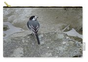 Gray Bird Carry-all Pouch
