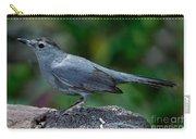 Gray Catbird Dumetella Carolinensis Carry-all Pouch