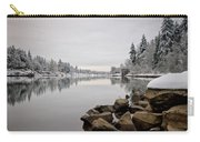 Gray Day In Lake Oswego Carry-all Pouch