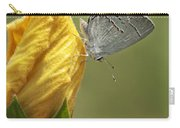 Gray Hairstreak Butterfly Carry-all Pouch
