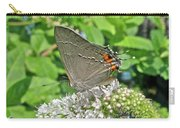 Gray Hairstreak Butterfly - Strymon Melinus Carry-all Pouch