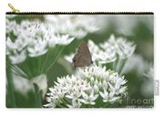 Gray Hairstreak On White Blossoms Carry-all Pouch