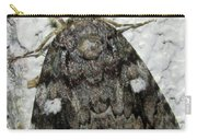 Gray Owlet Moth Carry-all Pouch