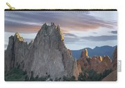 Gray Rock And South Gateway Rock Garden Carry-all Pouch