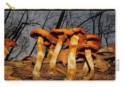 Gray Sky Fungi Carry-all Pouch