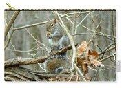 Gray Squirrel - Sciurus Carolinensis Carry-all Pouch