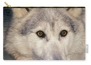 Gray Wolf Canis Lupus, Minnesota Carry-all Pouch