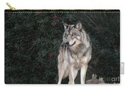 Gray Wolf Endangered Species Wildlife Rescue Carry-all Pouch