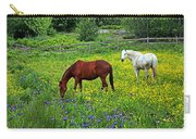 Grazing Amongst The Wildflowers Carry-all Pouch