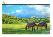 Grazing In Paradise Carry-all Pouch